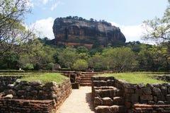 Φρούριο βράχου Sigiriya, Sigiryia, Σρι Λάνκα Στοκ Εικόνα