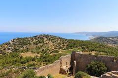 φρούριο Ελλάδα μεσαιωνική Στοκ φωτογραφία με δικαίωμα ελεύθερης χρήσης