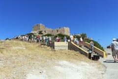 φρούριο Ελλάδα μεσαιωνική Στοκ Φωτογραφία