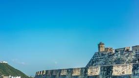 Φρούριο Καρχηδόνα Κολομβία SAN Felipe de Barajas Στοκ εικόνες με δικαίωμα ελεύθερης χρήσης