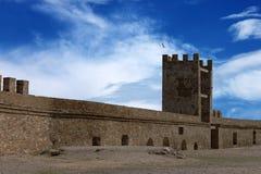 φρούριο μεσαιωνικό Στοκ Εικόνες