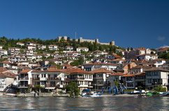 Φρούριο Οχρίδα στοκ εικόνες με δικαίωμα ελεύθερης χρήσης