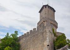 Φρούριο πάνω από το βουνό Στοκ Φωτογραφία