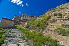 φρούριο παλαιός Θιβετια& στοκ εικόνες