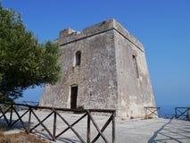 Φρούριο σε Apulia στην Ιταλία Στοκ φωτογραφία με δικαίωμα ελεύθερης χρήσης