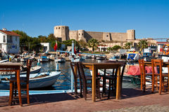 Φρούριο σε Bozcaada, Τουρκία στοκ φωτογραφία με δικαίωμα ελεύθερης χρήσης