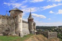 Φρούριο σε kamianets-Podilskyi στην Ουκρανία Στοκ Εικόνα