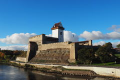 Φρούριο σε Narva Στοκ φωτογραφία με δικαίωμα ελεύθερης χρήσης