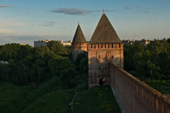 φρούριο Σμολένσκ Στοκ Εικόνα