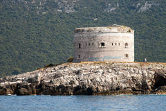 Φρούριο στη θάλασσα, Μαυροβούνιο Στοκ εικόνες με δικαίωμα ελεύθερης χρήσης