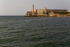 Φρούριο στο ανατολικό λιμάνι της Αβάνας Στοκ Εικόνες