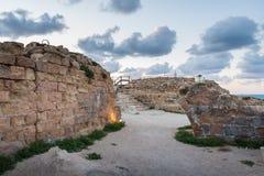 Φρούριο στο εθνικό πάρκο Apollonia Στοκ Φωτογραφία