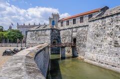Φρούριο στο Λα Habana Vieja, Κούβα Στοκ φωτογραφία με δικαίωμα ελεύθερης χρήσης