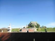 φρούριο της Κέρκυρας παλ& Στοκ Εικόνες