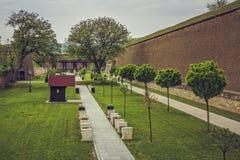 Φρούριο της Alba Καρολίνα, Ρουμανία Στοκ Εικόνα
