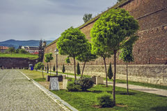 Φρούριο της Alba Iulia, Ρουμανία Στοκ φωτογραφία με δικαίωμα ελεύθερης χρήσης