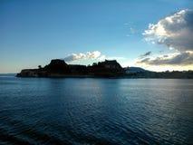 Φρούριο του νησιού Ελλάδα της Κέρκυρας Στοκ φωτογραφία με δικαίωμα ελεύθερης χρήσης