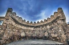 Φρούριο του παλαιού Sity Μπακού, πύλη εισόδων Ιστορικός πυρήνας του Αζερμπαϊτζάν Μπακού Στοκ Φωτογραφίες