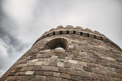 Φρούριο του παλαιού Sity Μπακού, πύλη εισόδων Ιστορικός πυρήνας του Αζερμπαϊτζάν Μπακού Στοκ Φωτογραφία