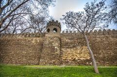 Φρούριο του παλαιού Sity Μπακού, πύλη εισόδων Ιστορικός πυρήνας του Αζερμπαϊτζάν Μπακού Στοκ φωτογραφία με δικαίωμα ελεύθερης χρήσης