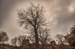 Φρούριο του παλαιού Sity Μπακού, πύλη εισόδων Ιστορικός πυρήνας του Αζερμπαϊτζάν Μπακού Στοκ εικόνες με δικαίωμα ελεύθερης χρήσης