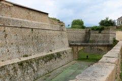 Φρούριο του Ajaccio στοκ φωτογραφία