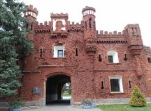 Φρούριο του Brest - Ð ` Ñ€ÐΜÑ  Ñ 'Ñ  ÐºÐ°Ñ  крÐΜÐ ¿ Ð ¾ Ñ  Ñ 'ÑŒ Στοκ φωτογραφίες με δικαίωμα ελεύθερης χρήσης
