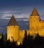 Φρούριο του Carcassonne - Γαλλία στοκ φωτογραφίες με δικαίωμα ελεύθερης χρήσης