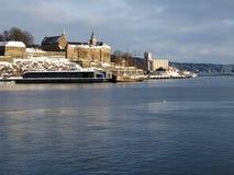 φρούριο Όσλο akershus Στοκ Φωτογραφία