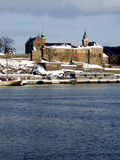 φρούριο Όσλο akershus Στοκ Εικόνες