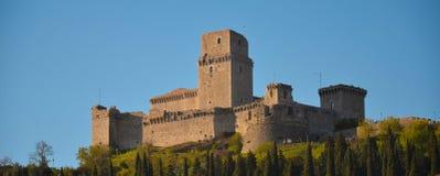 Φρούριο 1 Assisi Στοκ Εικόνες