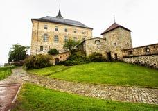 Φρούριο Akershus στη βροχερή ημέρα Όσλο Νορβηγία Στοκ Εικόνες