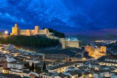 Φρούριο Alcazaba Antequera Στοκ εικόνες με δικαίωμα ελεύθερης χρήσης