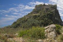 Φρούριο Angelokastro στο νησί της Κέρκυρας, Ελλάδα Στοκ φωτογραφίες με δικαίωμα ελεύθερης χρήσης