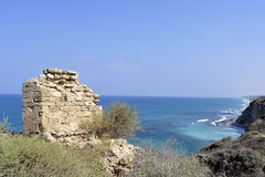 Φρούριο Apollonia κοντά στο Τελ Αβίβ Στοκ φωτογραφίες με δικαίωμα ελεύθερης χρήσης