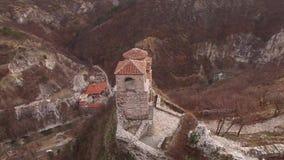 Φρούριο Asenova, Βουλγαρία απόθεμα βίντεο