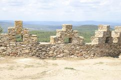 Φρούριο Begur Στοκ εικόνες με δικαίωμα ελεύθερης χρήσης