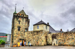 Φρούριο Bergenhus στο Μπέργκεν, Νορβηγία Στοκ Εικόνες