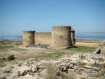 Φρούριο bilhorod-Dnistrovskyi ή φρούριο Akkerman Στοκ φωτογραφίες με δικαίωμα ελεύθερης χρήσης