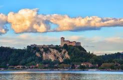 Φρούριο Borromeo Angera - της Ιταλίας - 2 Στοκ εικόνα με δικαίωμα ελεύθερης χρήσης