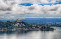 Φρούριο Borromeo Angera - της Ιταλίας - 4 Στοκ Εικόνες