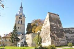φρούριο codlea Στοκ εικόνα με δικαίωμα ελεύθερης χρήσης