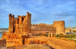 Φρούριο dar-EL-Bahar στην ατλαντική ακτή Safi, Μαρόκο Στοκ εικόνες με δικαίωμα ελεύθερης χρήσης