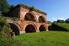 Φρούριο Dinaburg στοκ εικόνα