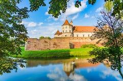 Φρούριο Fagaras στη κομητεία Brasov, Τρανσυλβανία, Ρουμανία στοκ φωτογραφία