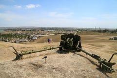 Φρούριο Fanagoria πυροβόλων όπλων Suvorov Στοκ εικόνα με δικαίωμα ελεύθερης χρήσης