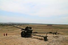 Φρούριο Fanagoria πυροβόλων όπλων Suvorov Στοκ Εικόνες