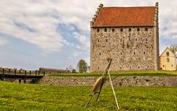 Φρούριο Glimmingehus Στοκ φωτογραφία με δικαίωμα ελεύθερης χρήσης