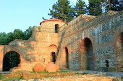 Φρούριο Hisarlaka το βράδυ Στοκ Εικόνες