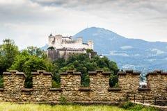 Φρούριο Hohensalzburg Σάλτζμπουργκ australites στοκ φωτογραφία